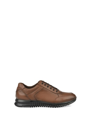 , Erkek Hakiki Deri Ayakkabı 103423 101 Taba resmi