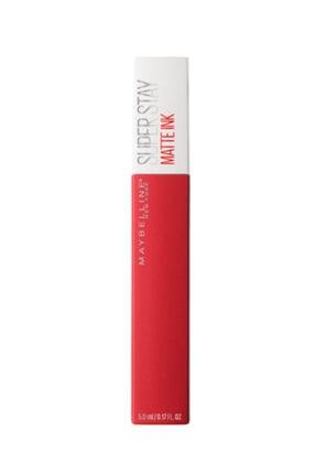 Maybelline Super Stay Matte Ink Likit Mat Ruj - 20 Pioneer - Kırmızı 0