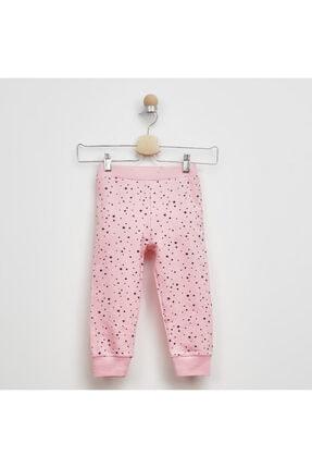 Panço Kız Çocuk Pembe Baskılı Pijama Takımı 2021gk39006 2