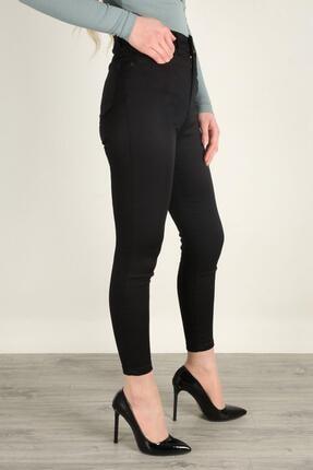 Z GİYİM Kadın Yüksek Bel Esnek Dar Paça Kot Pantolon 1