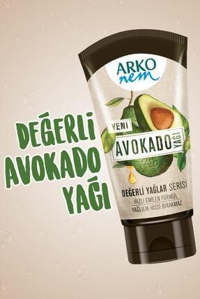 Arko Nem Nem Değerli Yağlar Avokado Yağı El Ve Vücut Kremi 250  ml& 60 ml 1