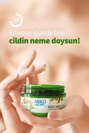 Arko Nem Nem Değerli Yağlar Avokado Yağı El Ve Vücut Kremi 250  ml& 60 ml 2