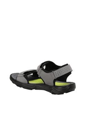 Lumberjack KASS Gri Erkek Sandalet 100501717 2