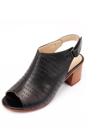 Gön Gön Hakiki Deri Kadın Sandalet 45627 4