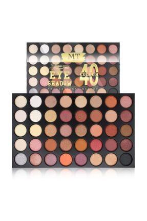 Makeuptime 40'lı Renkli Göz Farı Palet 0