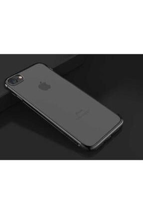 TeknoDuvar Apple Iphone 8 Kılıf Dört Köşe Renkli Lazer Silikon Kapak 0