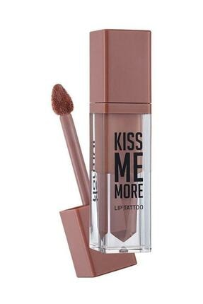 Flormar Kiss Me More Lip Tattoo Açık Pembe Nude Ruj 001 8690604572816 0