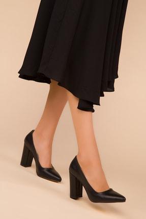 Soho Exclusive Siyah Kadın Klasik Topuklu Ayakkabı 15313 0