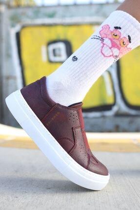 Chekich Ch033 Bt Kadın Ayakkabı Bordo 2