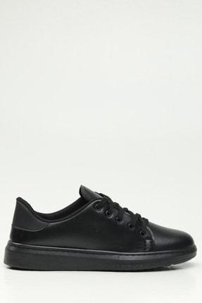 Ayakkabı Modası Kadın Siyah Spor Ayakkabı 0