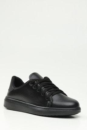 Ayakkabı Modası Kadın Siyah Spor Ayakkabı 1