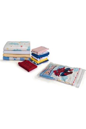 Magic Saver Bag 3lü Spider Man Vakumlu Poşet Large 0