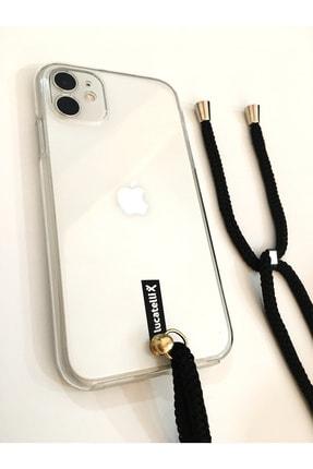 Lucatelli Iphone 6/6s Boyuna Askılı Ön Arka 360 Şeffaf Kılıf+kitap 3
