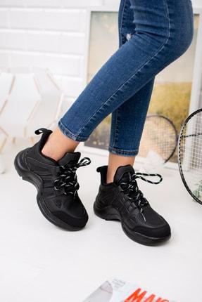 meyra'nın ayakkabıları Siyah Spor Ayakakbı 2