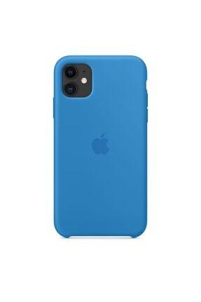 Apple Iphone 11 Silikon Kılıf Surf Mavisi 0