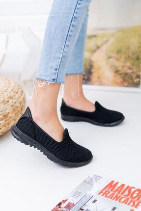 meyra moda Siyah Petek Memory Foam Ayakkabı 1