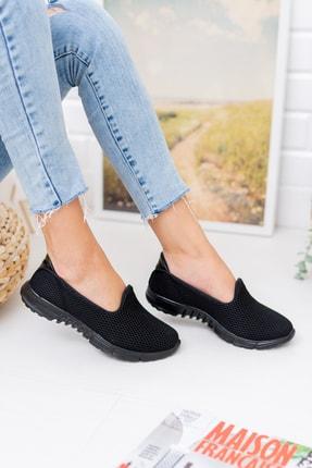 meyra moda Siyah Petek Memory Foam Ayakkabı 2
