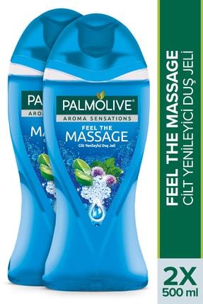 Palmolive Aroma Sensations Feel The Massage Cilt Yenileyici Banyo ve Duş Jeli 500 ml x 2 Adet 0