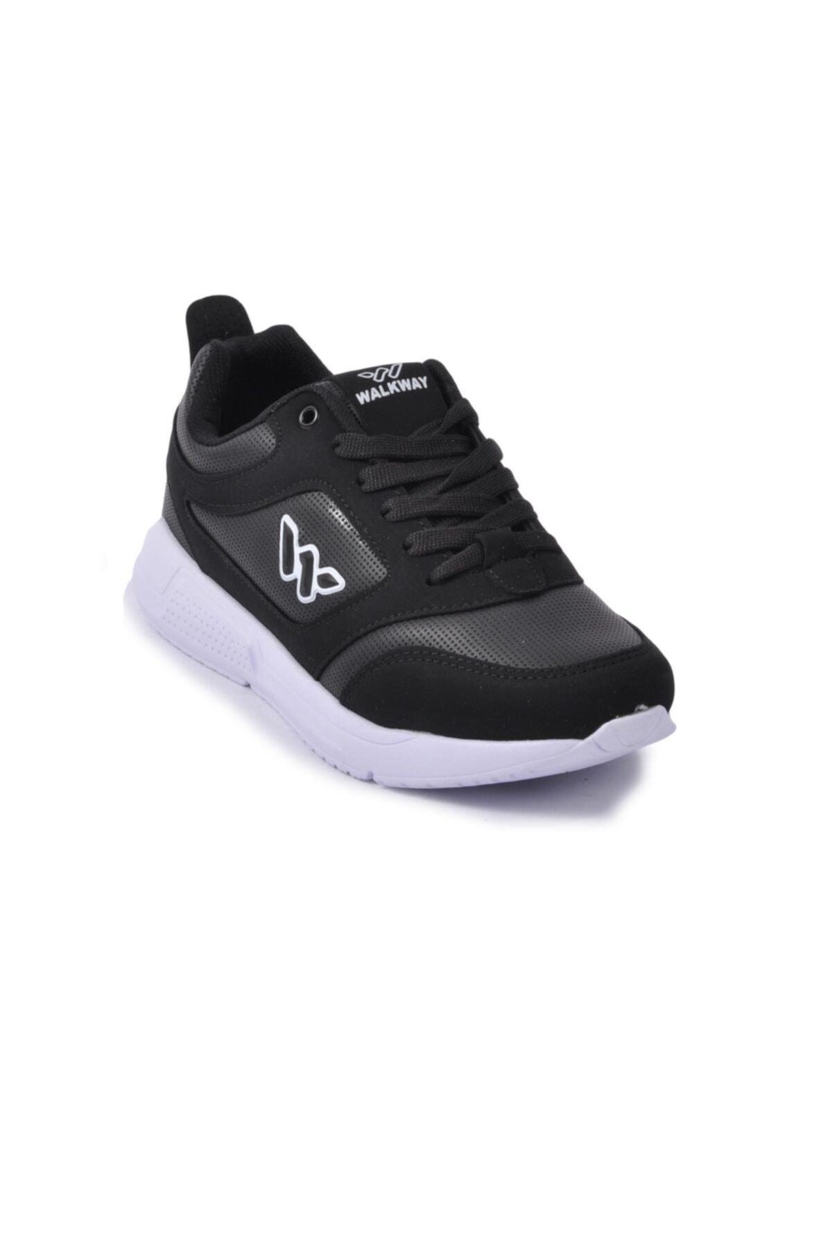 WALKWAY Kadın Siyah Beyaz Ayakkabı Prt-021