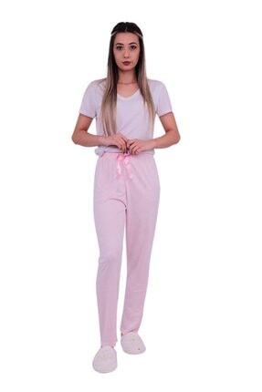 ARCAN Kadın Pembe Kalp Desenli Pijama Altı 20106 1