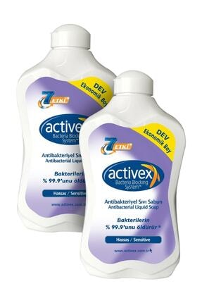 Activex Antibakteriyel Sıvı Sabun Hassas 1 5 l 0