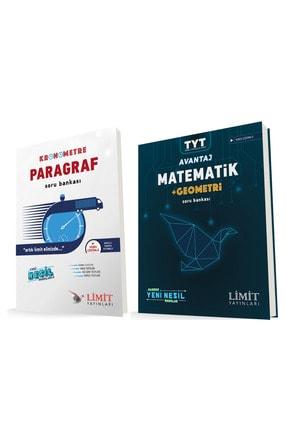 Limit Yayınları Kronometre Paragraf ve Avantaj Matematik Geometri Soru Bankası Seti 0