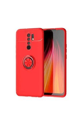 Dijimedia Xiaomi Redmi 9 Ravel Silikon Kırmızı Telefon Kılıfı 0
