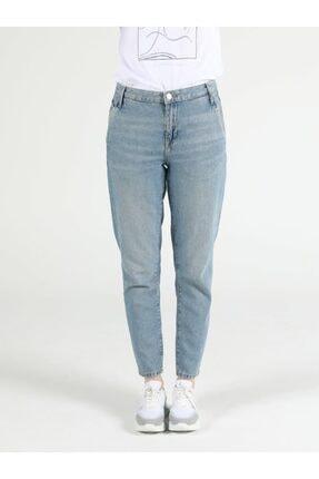 Colin's Tesa Chıno Orta Bel Rahat Kesim Paça Kadın Jean Pantolon 3
