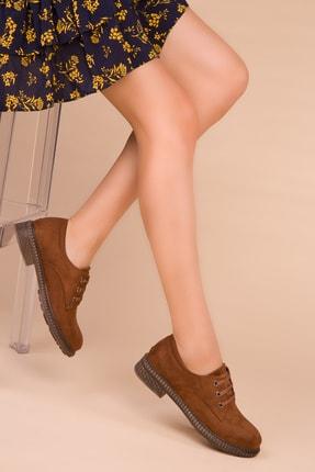 Soho Exclusive Taba Süet Kadın Casual Ayakkabı 15397 1