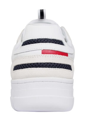 Tommy Hilfiger Erkek Retor Mesh Beyaz Sneaker EM0EM00398 1