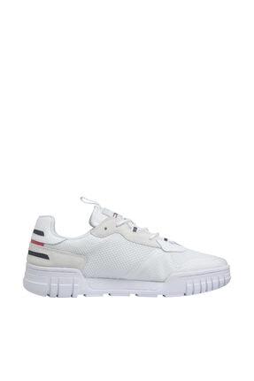 Tommy Hilfiger Erkek Retor Mesh Beyaz Sneaker EM0EM00398 3