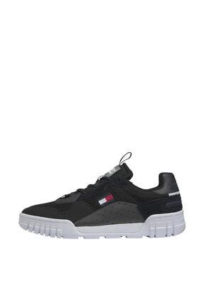 Tommy Hilfiger Erkek Retor Mesh Siyah Sneaker EM0EM00398 1