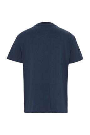 Tommy Hilfiger Erkek Gold Embroidery Logo T-Shirt DM0DM07848 2