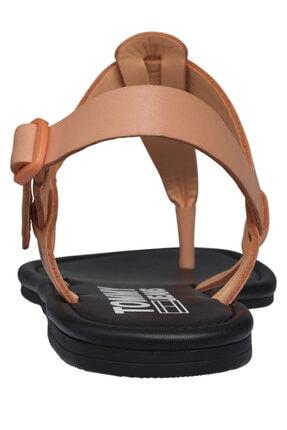 Tommy Hilfiger Kadın Turuncu Sandalet Color Block Basıc Thong Sandal EN0EN00908 1