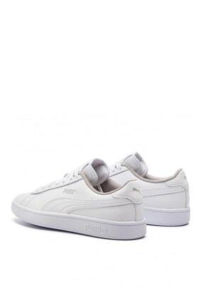 Puma Smash V2 L Jr Kadın Günlük Spor Ayakkabı 365170 02 3