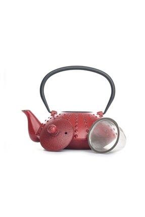 Beta Tea Ba3029 Demir Döküm Demlik Kırmızı 850 Ml 0