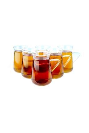 AROW Hazan 6 Adet Borosilikat Çay Bardağı 0