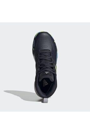 adidas Unisex Çocuk Siyah Basketbol Ayakkabısı 2