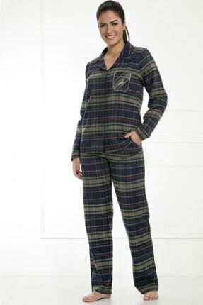 Etoile Kadın Haki Pijama Takımı 0