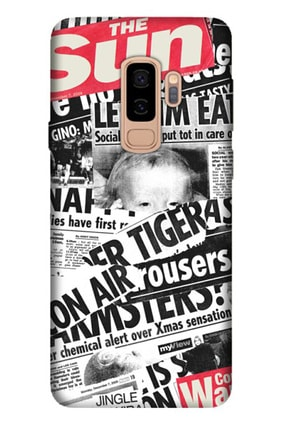 Cekuonline Samsung Galaxy S9 Plus Tıpalı Kamera Korumalı Silikon Kılıf - Gazete News 0