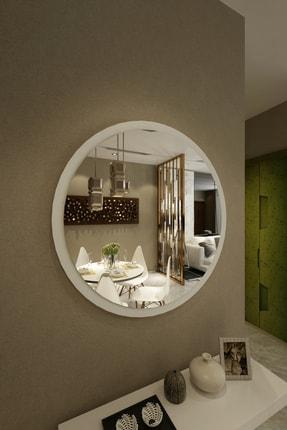 İkizlerçeyiz Wendy Dekoratif Konsol Aynası Beyaz 46 cm 1