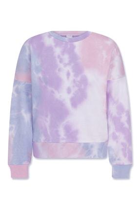 Sandshaped Kadın Lila Batik Sweatshirt 0