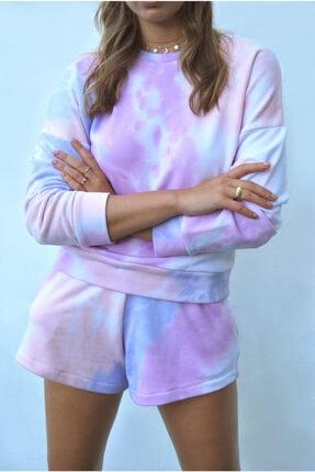 Sandshaped Kadın Lila Batik Sweatshirt 2