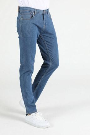 044 Karl Düşük Bel Düz Paça Straight Fit Jean Erkek Jean Pantolon resmi