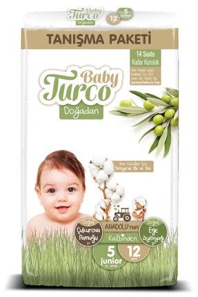 Baby Turco Doğadan 5 Numara Junıor Tanışma Paketi 12 Adet 0