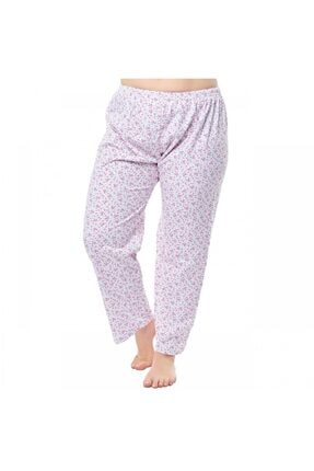 Seher Yıldızı Kadın Beyaz İki İplik Pijama 0