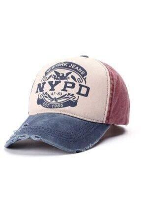 Cosswell Unisex Nypd Eskitme Tasarım Şapka 0