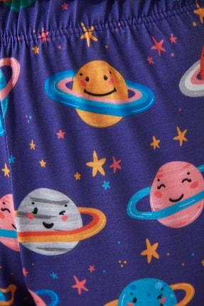 TRENDYOLMİLLA Galaksi Baskılı Pijama Altı THMAW21PJ0020 2