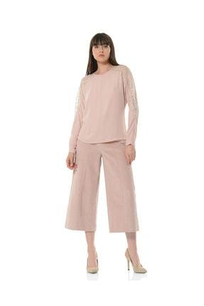 BİRELİN Kadın Pembe Aurora Bluz 0
