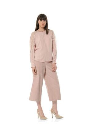 BİRELİN Kadın Pembe Aurora Bluz 1